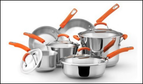 Rachael Ray Stainless Steel II Cookware