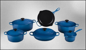 Enameled Cast Iron Cookware